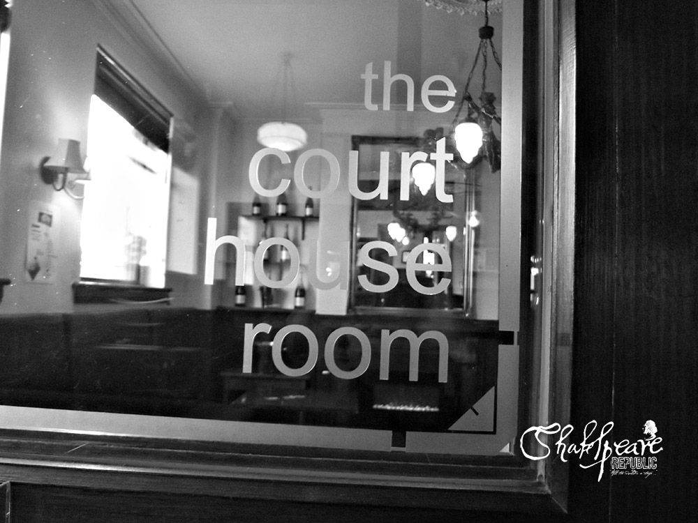 Looking into The Courthouse Hotel Lounge Bar (Photo: Perri Cummings)