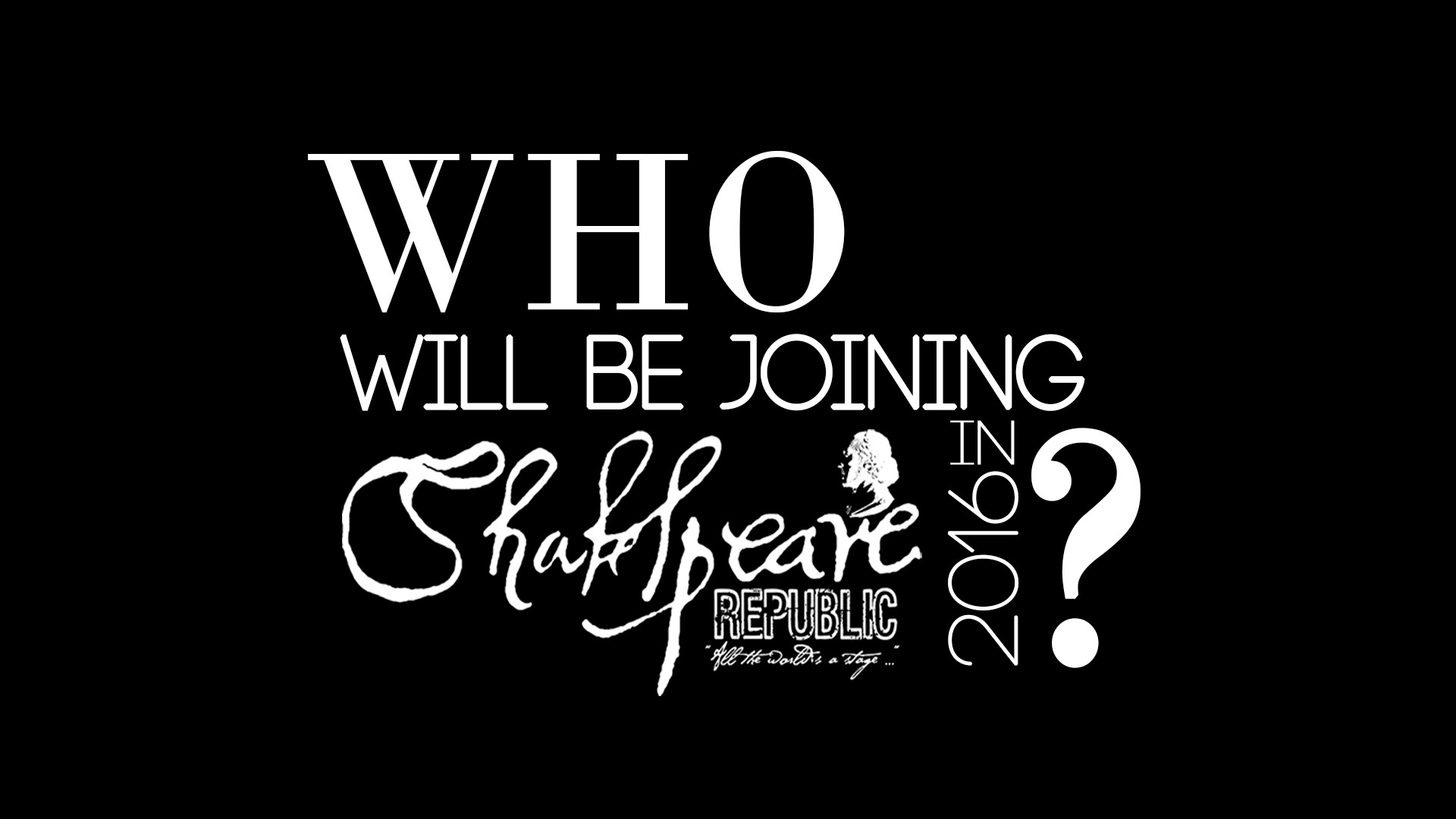 Cast Announcement: Shakespeare Republic welcomes new member – Shane Savage!