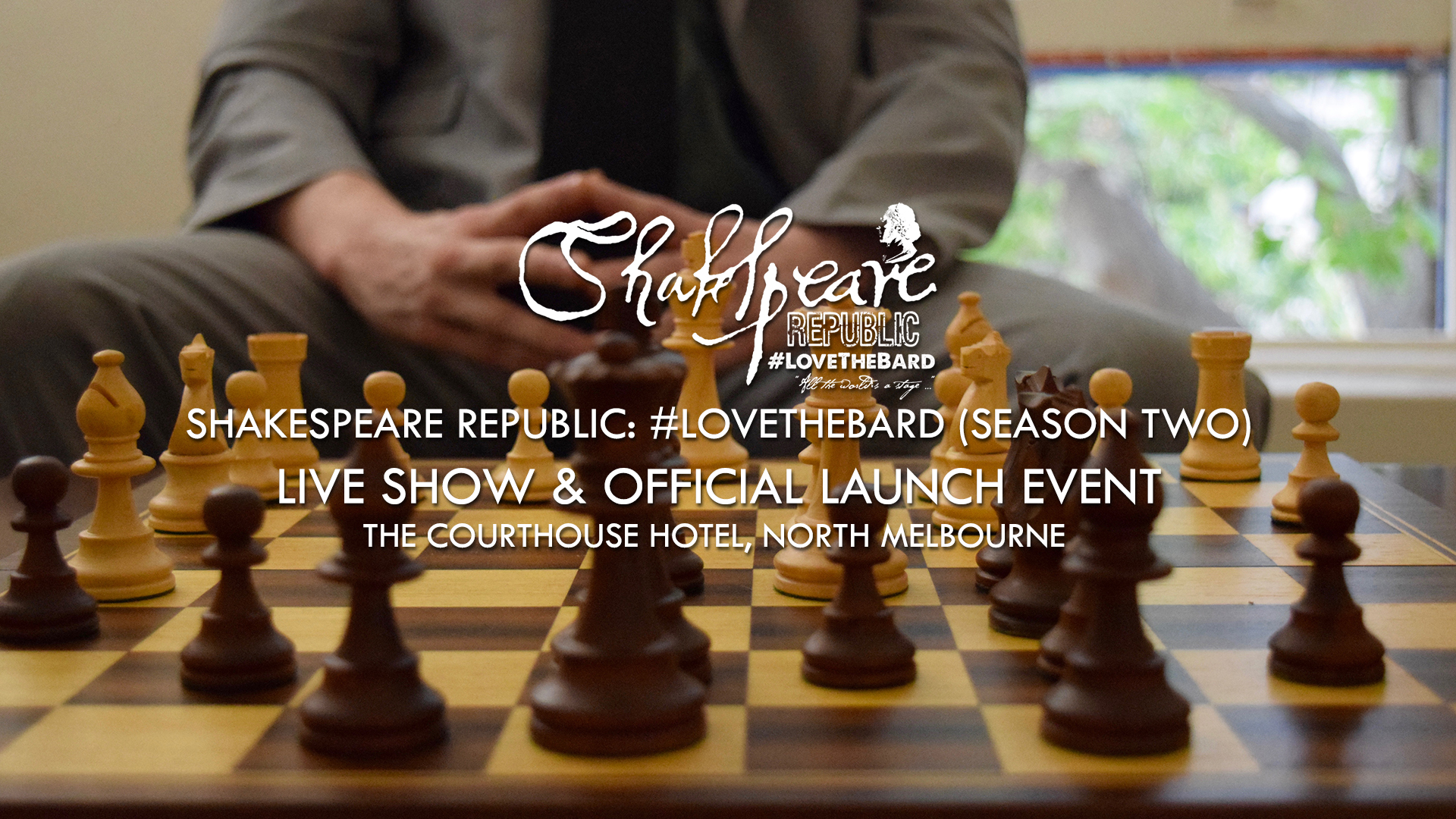 Shakespeare Republic: #LoveTheBard Launch Party & Live Show Video! #Shakespeare #Theatre #Webseries