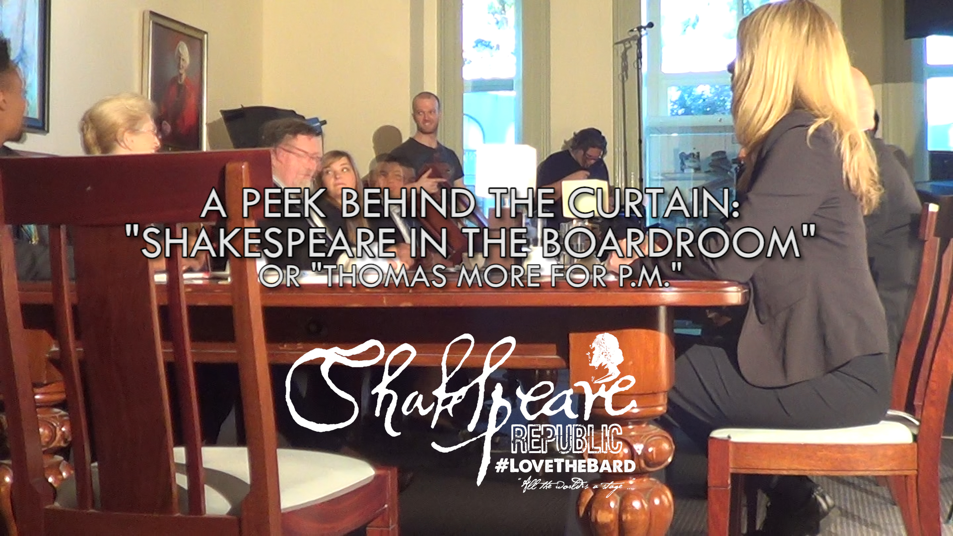 Shakespeare Republic: #LoveTheBard – S2E3 Behind-The-Scenes featuring Christopher Kirby #Shakespeare #WebSeries