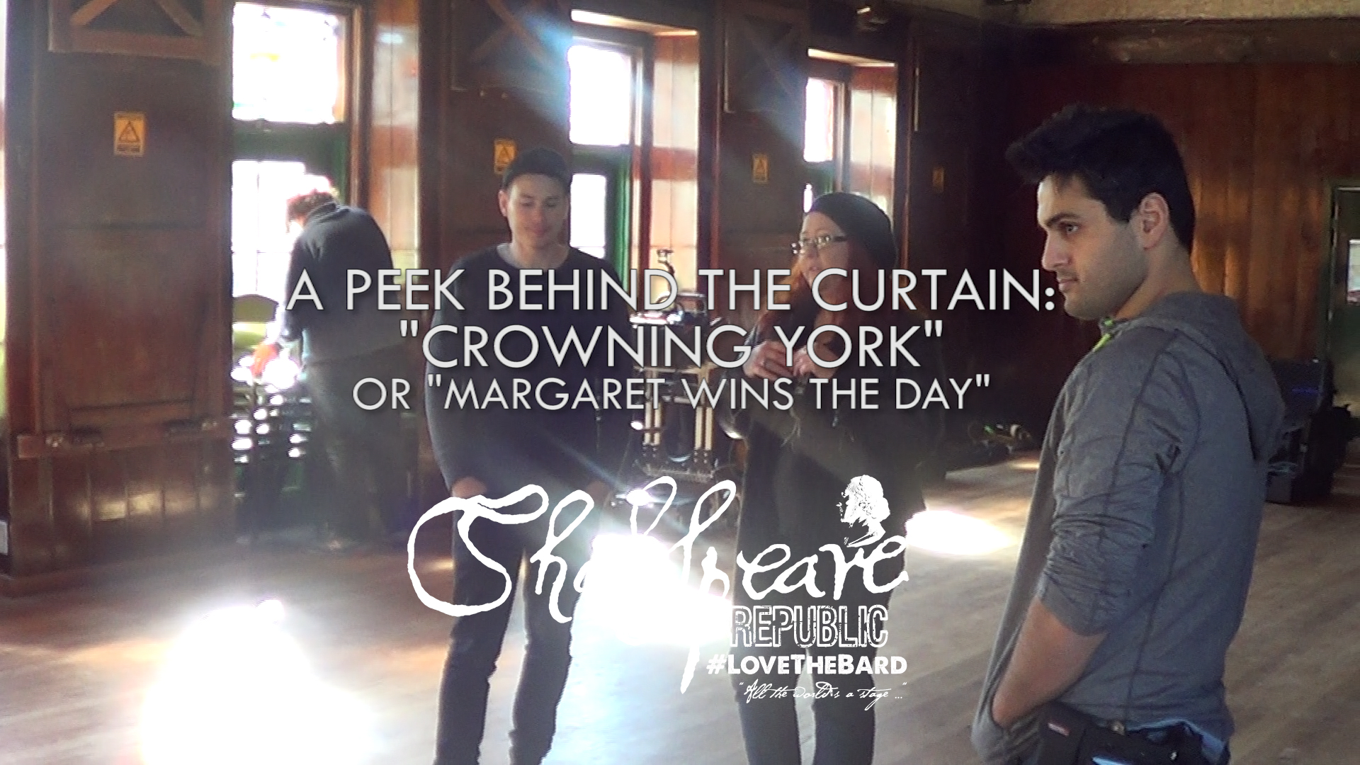 Shakespeare Republic: #LoveTheBard – S2E1 Behind-The-Scenes featuring Stephen Costan #Shakespeare #WebSeries