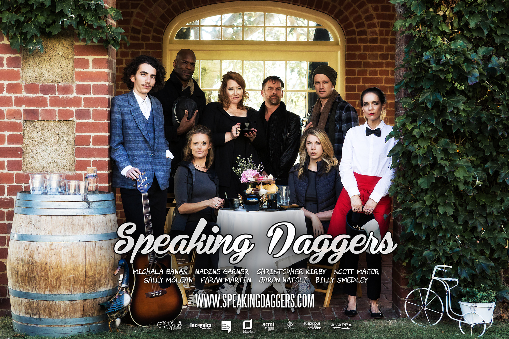 "New project for Shakespeare Republic: ""Speaking Daggers"" the #Shakespeare film!"