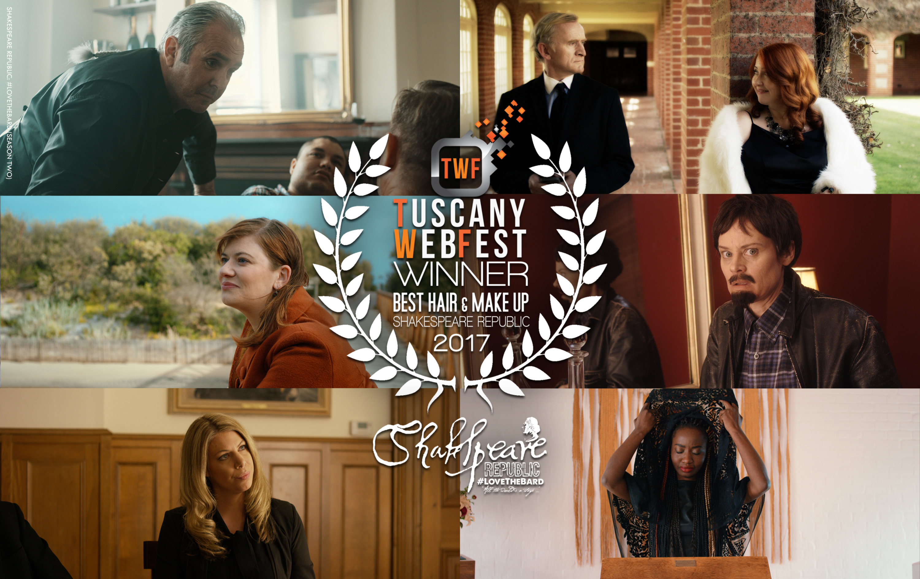 More Official Selections and two more awards for the Republic! #Shakespeare #Webseries