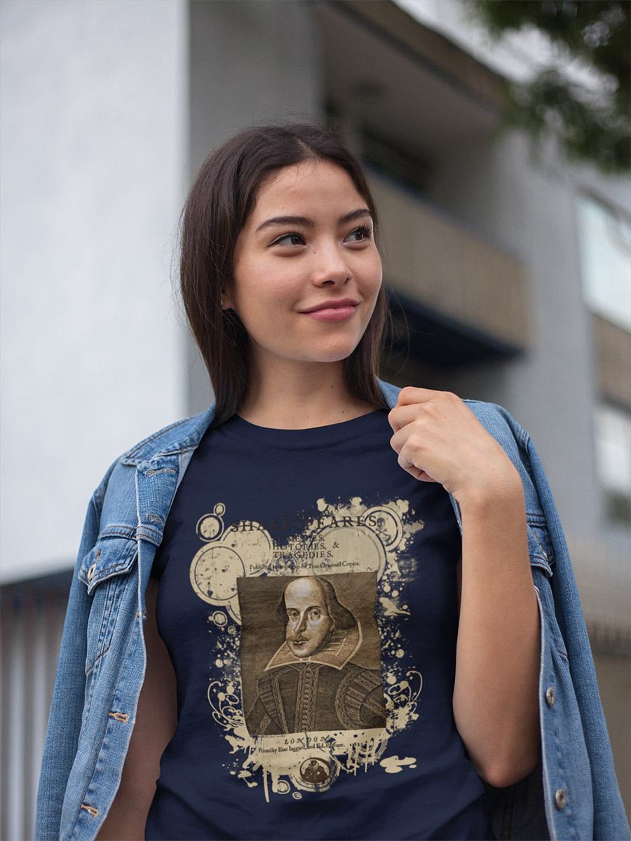 Shakespeare First Folio Women's Fitted Scoop T-shirt