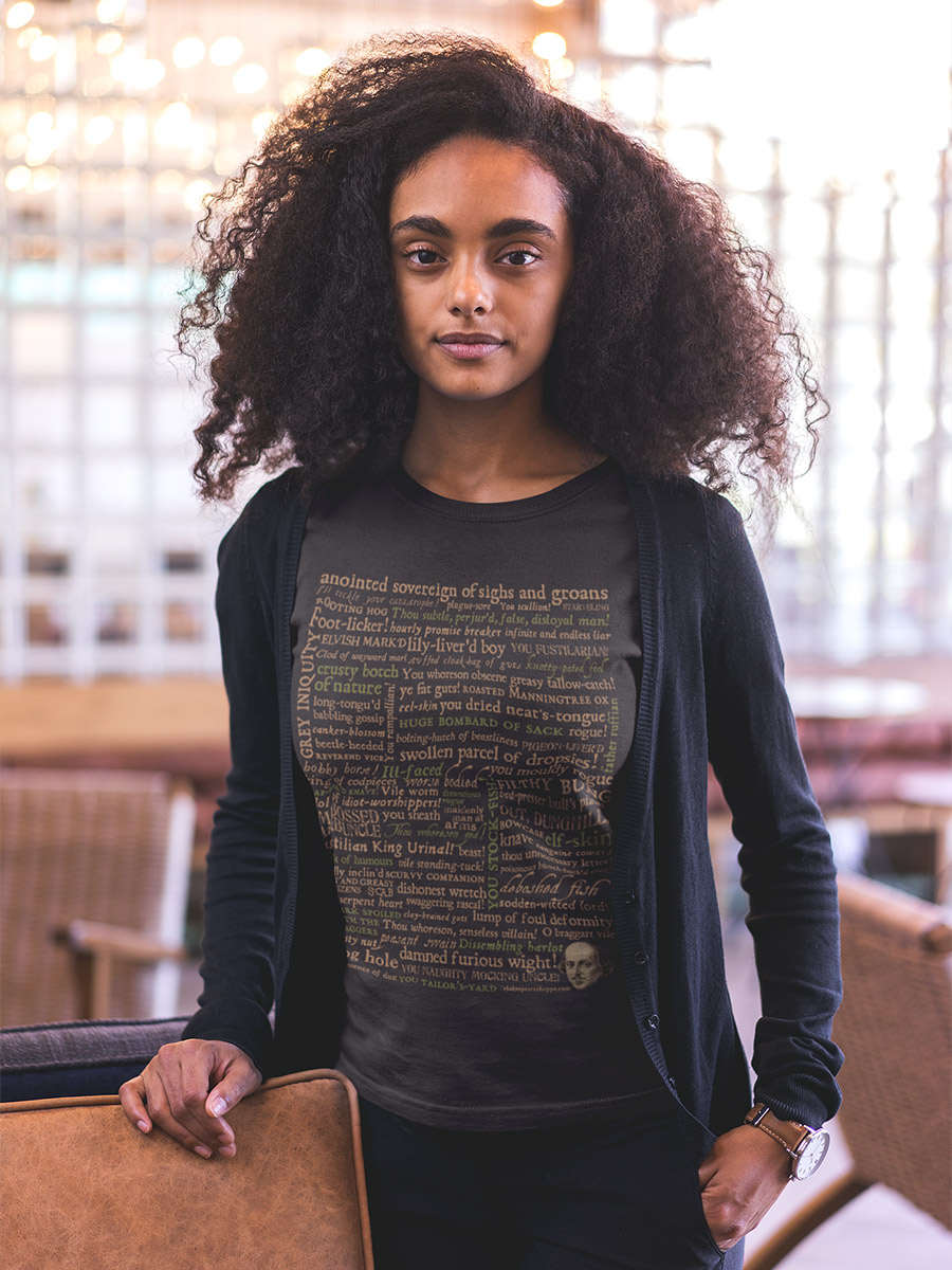 Shakespeare's Insults Women's Premium T-shirt