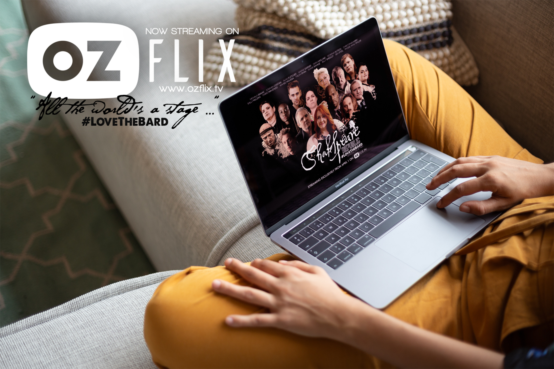 Shakespeare Republic has the highest viewing figures of any launch on the Ozflix platform!