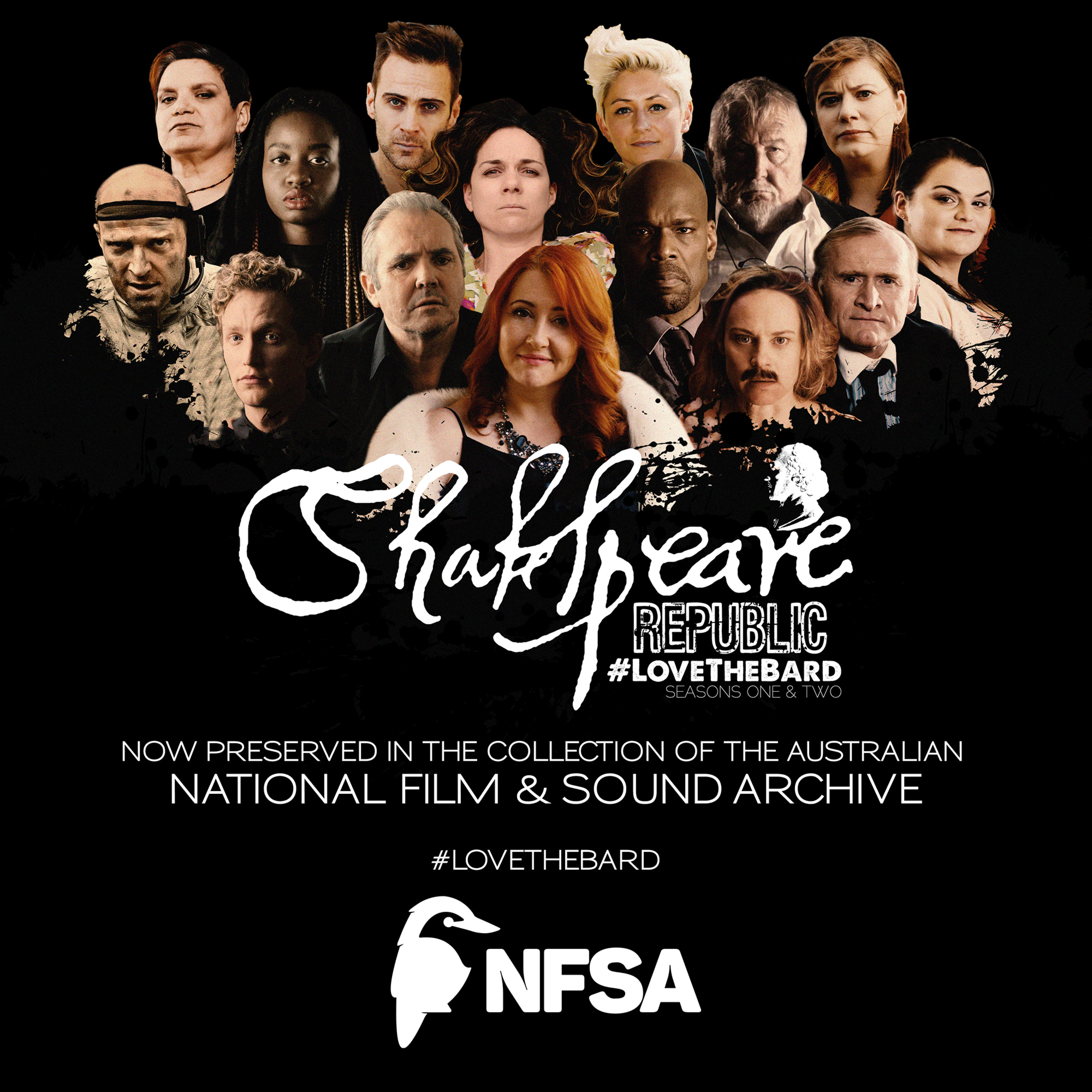 Shakespeare Republic acquired by National Film & Sound Archive!
